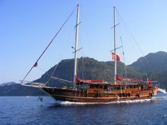 Take in the scenery with traditional boat cruises in North Cyprus Cyprus Holiday, North Cyprus, Cruise Holidays, Black Sails, Sail Away, Pirates Of The Caribbean, Greek Islands, Travel Guides, Sailing Ships