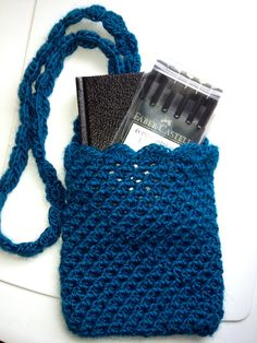 Quick Kindle Or Nook Cover By Jennifer Uribe - Free Crochet Pattern - (ravelry)