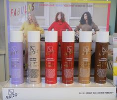 EVO Fabuloso!  Are you tired of your dull R-E-D, boring B-R-O-W-N, going nowhere B-L-O-N-D-E or has your hair colour have the intensity of a pile of A-U-T-U-M-N leaves? Maybe it`s time for FABULOSO!  It intensifies hair colour, conditions like crazy, adds super shine...so glossy!