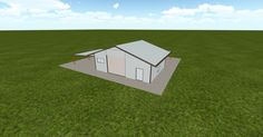 3D #architecture via @themuellerinc http://ift.tt/2jFz5ug #barn #workshop #greenhouse #garage #DIY