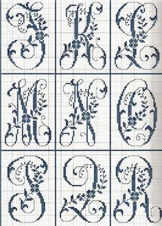 Mod le broderie point de croix alphabet 8 id es pour - Grille indiciaire ingenieur de recherche ...
