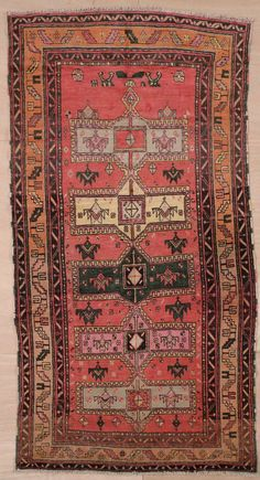 This beautiful Handmade Knotted Rectangular rug is approximately 4 x 8 New Contemporary area rug from our large collection of handmade area rugs with Caucasian style from Armenia/Azerbaijan/Georgia with Wool