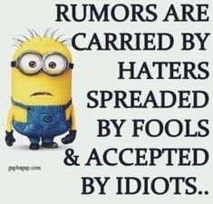 Well Said Quotes 566609196869036836 - Minions – Funny minion, Minions quotes, Minion banana, Minion wallpaper, Despicable me 2 Source by emanmostafa Funny Minion Memes, Minions Quotes, Funny Jokes, Minion Humor, Hilarious, Minion Pictures, Funny Pictures, Funny Pics, Funny Stuff