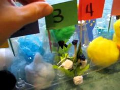Kids Bible Learning and fun: Mini Days of Creation kit craft, made into egg carton.