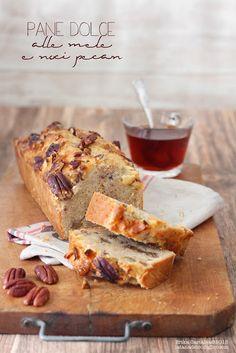 La tana del coniglio: Pane dolce alle mele e noci pecan
