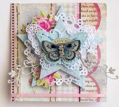 Embellished Doiley - Steph Devlin - Original idea by Christine Middlecamp