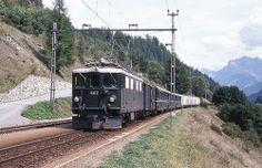 Trains des RhB (Suisse)