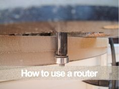 How to use a router for decorative edge cutting tutorial and video. Arent you excited? Im getting a bit creative in the editing department - check more on my website
