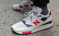 J.Crew + New Balance 998 Independence Day