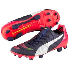 Puma evoPOWER 2.2 Firm Ground Football Boots Navy, Navy Puma Football Boots, Soccer Boots, Soccer Gear, Soccer Cleats, Football Kits, Pumas, Sports Shoes, Navy, Gears