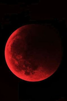 Red Moon Moon Pictures, Red Moon, Stars And Moon, Full Moon, Planets, Celestial, Color, Outer Space, Arm Tattoos