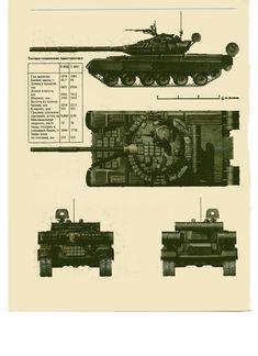 tanque principal de batalla sovietico (ruso) Т-80