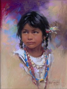 "Image detail for -Rosita From Sonora"" Pastel by Harley Brown, CA, 14.5"" x 11.5"" $ ..."