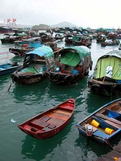 Aberdeen Fishing Village - Hong Kong