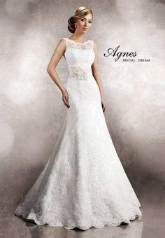 Suknie ślubne Agnes 2013: koronkowe suknie ślubne [Zdjęcia]