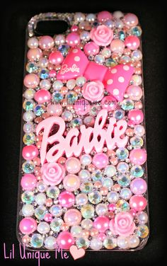 #barbie  custom made phone case i can make this for any make model of phone please visit www.liluniqueme.co.uk