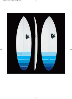 my new board en-route. designed by me and shaped by fourth surfboards