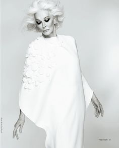 Over fifty and fabulous: Carmen DellOrefice by MoDas Touch for You Magazine. Love every minute of her and had the extreme pleasure of working with her.