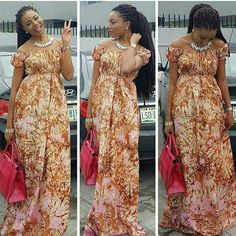 13 Gorgeous Ankara Maxi Dresses For You - AfroCosmopolitan Latest African Fashion Dresses, African Inspired Fashion, African Dresses For Women, African Print Dresses, African Print Fashion, Africa Fashion, African Attire, African Wear, African Women
