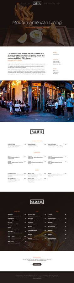Pacific Template Squarespace