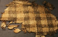 Woven textile found in the Oseberg boat mound grave in the county of Vestfold, Norway. Dates to 834 C.E. Photograph from Saamiblog: http://saamiblog.blogspot.com/
