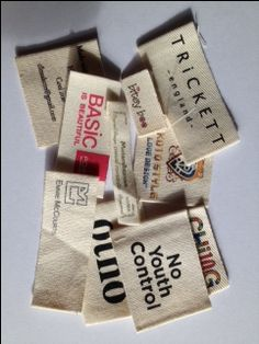 100% Nature-Friendly Cotton Labels for Clothing , Eco-Friendly ! #CottonLabels, #CottonLabelsForClothing, #Cotton http://www.perfectlabelslanyards.co.uk/cotton-label/
