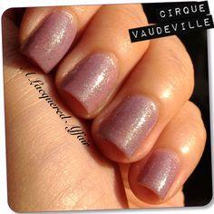 Cirque Vaudeville. Indie polish, handmade in New York.