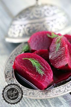 How to Make Beet Pickles? There are also 7 comments to give you an idea. Rice Recipes, Cooking Recipes, Turkish Recipes, Ethnic Recipes, Mezze, Marinated Olives, Pickled Beets, Fermented Foods, Winter Food