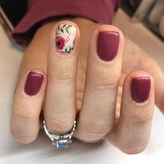 nail art designs makeup design ten nail & makeup studio nail makeup hansen chrome nail makeup nail art nailart and nail makeup nail designs Fancy Nails, Love Nails, How To Do Nails, Pretty Nails, My Nails, Nail Art Vernis, Shellac Nail Art, Acrylic Nails, Burgundy Nail Art