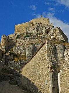 Castle rock  Morella,  Castellón  Spain