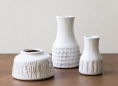 Vase Terracota blanc - Bloomingville -Maison Mathûvû