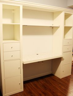 """We are almost done with the desk! Now it's all about """"moving in"""" and organizing and putting on the finishing touches. All the girly, fun t..."""