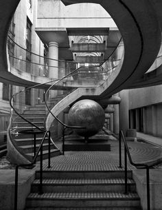 'Caught in the Grip' by Jameson Savage.  #staircase #library #libraries