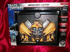 FREE SHIPPING! Transformers Dark of The Moon Bumblebee Learning Laptop w Voice Sound | eBay