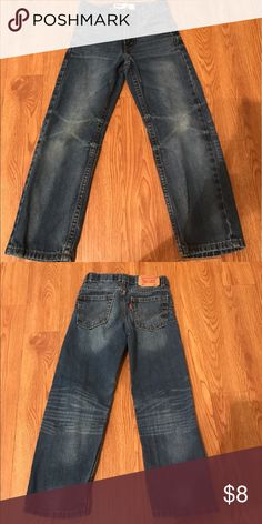 Boys Levi's These jeans are in great condition. Size 7 slim.  Does have an adjustable waist.  Tags: BKE, lucky, Hudson, Paige, buckle, true religion, miss me, joe's, Abercrombie, hippie, rock revival, 7 for all mankind, seven, Levi's, silver, old navy, gap, children's place, Mossimo, American eagle, cremieux, under armour, Vince camuto, Aeropostale, Patagonia, fossil, Michael kors, Northface, Tory Birch, Levi's Bottoms Jeans