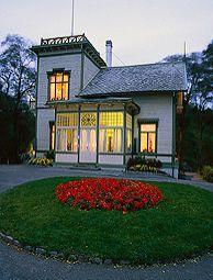 The Edvard Grieg Museum at Troldhaugen in Bergen, Norway.
