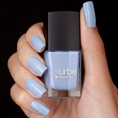 exurbe cosmetics veganer Nagellack Stairway To Heaven in Himmelblau Mascara, Stairway To Heaven, Pastel Blue, Stairways, Nail Polish, Cosmetics, Nails, Beauty, Color