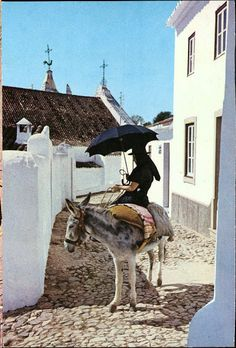 Algarve, Portuguese Culture, Brollies, Tours, Portugal Travel, Old Postcards, Home Art, Travel Inspiration, Royal House
