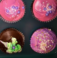 Fairy cuppieCakes! Must have some Pink&Purple