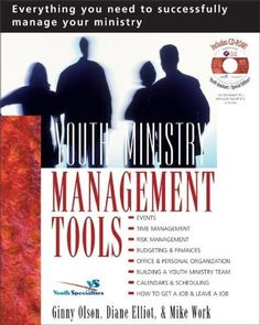 Youth Ministry Management Tools by Ginny Olson et al., http://www.amazon.com/dp/0310235960/ref=cm_sw_r_pi_dp_9WMPtb0SGT0QV