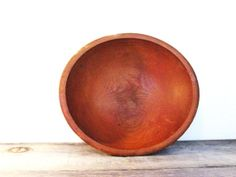 Just listed at ZenDenVintage!  Primitive Rustic Wood Bowl  Farmhouse Bowl  by ZenDenVintage, $38.00