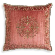 FELICIA CUSHION - Beaumont & Fletcher. Lovely, and in different colors too!