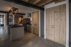 Furniture pull handle in Dark Bronze (Fama collection) Concrete Floors, Barn Wood, Living Spaces, Kitchen Cabinets, Warm, Flooring, Interior Design, Outdoor Decor, Modern