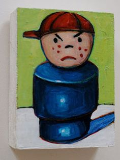 Giveaway: Vintage Fisher Price Painting by Meredith Steele!! – Modern Kiddo