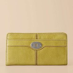 Fossil Maddox Zip clutch...available in 8 colors.
