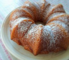 Butter Cake with Lemon Grass Syrup