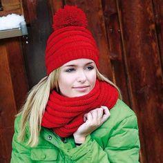 Deborah Norville Deep Ridges Hat & Cowl Free Download