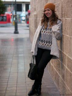 H & M a/w 2013  Jerseys, H&M  Pantalones and Calvin Klein  Bolsos Este es mi nuevo look en Chicisimo