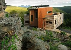 Colorado Shipping Container Home by Studio HT