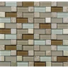 MS International Versailles Blend Pattern 12 in. x 12 in. Magic Mosaic Glass Floor and Wall Tile-THDWG-SGLMT-VB-8MM at The Home Depot